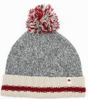 Canadiana Women's Rag Wool Toque