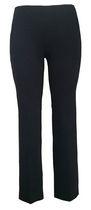 George Women's Pull On Comfort Bengaline Straight Dress Pant 12