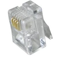 Digiwave RJ11 Plug (100PCS/Bag) (DGA64056U)