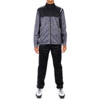 AND1 Men's 3 Point Player Tracksuit CHARCOAL HEATHER M