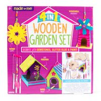 Made by Me 4-in-1 Wooden Garden Set