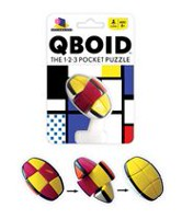 Brainwright Qboid The 1-2-3 Pocket Puzzle (English Only)