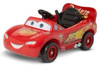 Disney Pixar Cars 3 Lightning McQueen Parent Steer Assist 6 Volt Ride On