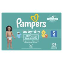 Pampers Baby Dry Diapers, Super Econo Pack