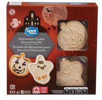Trousse de décoration pour biscuits d'Halloween