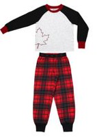 Canadiana Boys' 2-Piece Sleep Set L