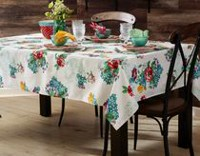 The Pioneer Woman Country Garden Tablecloth 52inx70in
