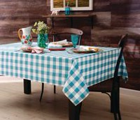 The Pioneer Woman Charming Check Tablecloth 52inx70in