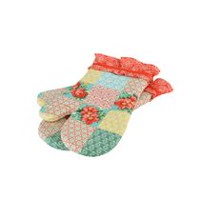 The Pioneer Woman Patchwork Oven Mitt Set
