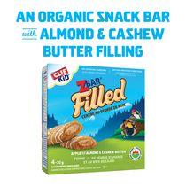 Clif Kid Zbar Filled Apple Filled w/ Almond & Cashew Butter Organic Energy Bar