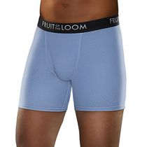 Fruit of the Loom Men's Breathable Boxer Briefs - Pack of 3 L