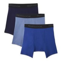 Fruit of the Loom Men's Breathable Boxer Briefs - Pack of 3 M