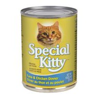 Special Kitty Premium Cat Food - Tuna and Chicken Dinner, 374 g