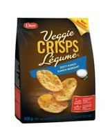 Dare Veggie Crisps Zesty Ranch Crackers Chips