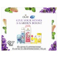 Olay & Secret 6-Piece Cleansing Gift Set