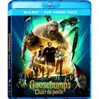 Goosebumps (Blu-ray + DVD + Digital HD) (Bilingual)