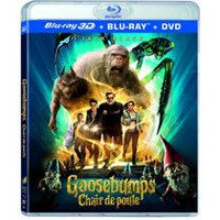 Goosebumps (Blu-ray 3D + Blu-ray + DVD + Digital HD) (Bilingual)