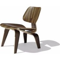 Nicer Furniture Modern Inspired Walnut Lounge Chair