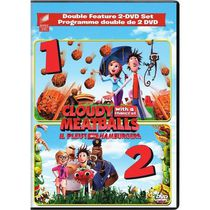 Cloudy With A Chance Of Meatballs / Cloudy With A Chance Of Meatballs 2 (Bilingual)
