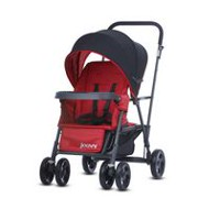 Joovy Caboose Graphite Stand-on Tandem Stroller Red