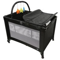 Bily Easy-Go Playard with Bassinet & Changer - Midnight