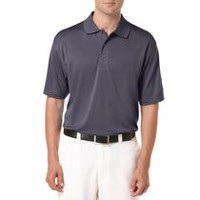 Ben Hogan Men's Golf Performance Solid Textured Short Sleeve Polo Shirt Nine Iron 2XL