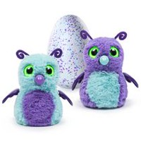 Hatchimals Interactive Creature Burtle Purple/Teal Hatching Egg Toy- Walmart Exclusive