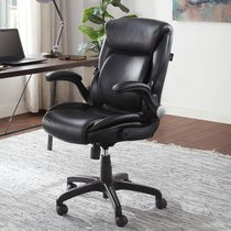 Serta AIR Lumbar Bonded Leather Manager Office Chair