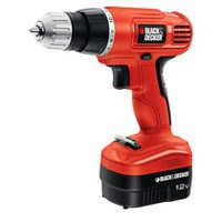 Perceuse-visseuse sans fil Ni-Cad 12 V de Black & Decker