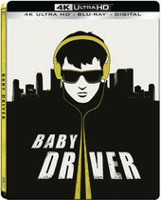Baby Driver (4K Ultra HD + Blu-ray + Digital) (Steelbook)