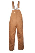 G6541 Genuine Dickies Duck Bib Overalls Brown 32X32