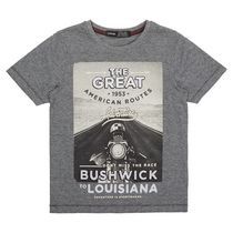 George British Design Boys' Bushwick Photographic Tee 16