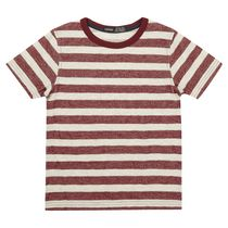 George British Design Boys' Textured Stripe T Shirt 16