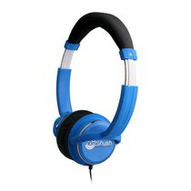 HD Stereo Headphones with In-Line Microphone (Blue)