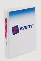 "Avery Durable View™ Mini Binder for 5-1/2"" x 8-1/2"", White"