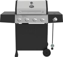 Expert Grill 4 Burner+Side Burner Gas Grill with Stainless Steel Lid
