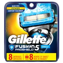 Gillette® Fusion® ProShield™ Chill™ Men's Razor Blade Refills