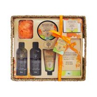 Orange Blossom and Neroli Bath Set in Basket