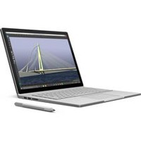 "Microsoft 13.5"" 256GB Surface Book Multi-Touch 2-in-1 Notebook Silver"