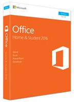 Microsoft Office Home & Student 2016, English