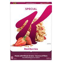 Céréales Special K de Kellogg's aux baies rouges, 320g