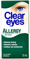 Collyre pour allergie de Clear Eyes