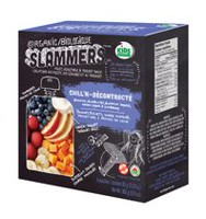 Organic Slammers Chill'N Fruit, Vegetable and Yogurt Snack