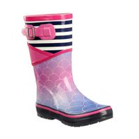Weather Spirits Girls' Rubber Boots 13