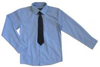 George Boys' Long Sleeve Dress Shirt with Tie XL