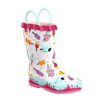 Weather Spirits Toddler Girls' Rubber Boots 12