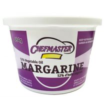 Chefmaster Margarine 52% M.F. Vegetable Oil