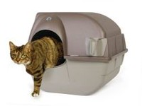 Omega Paw Roll 'n Clean Large Litter Box