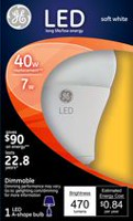 General Electric Soft White General Purpose 7 Watts LED Bulb - 40 Watt Replacement