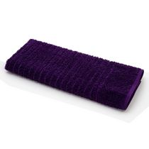 Mainstays Ring Spun Hand Towel Purple